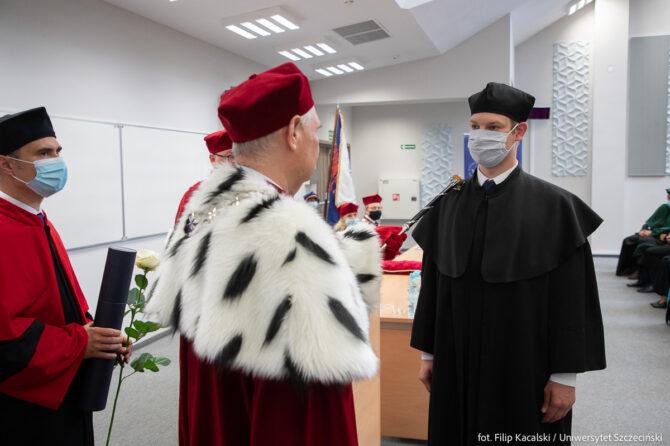 Promocja doktorska - Dariusz Mosler