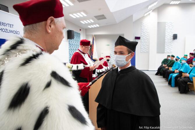 Promocja doktorska - Tomasz Góra